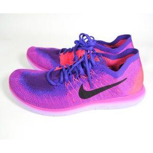 b50311e4091a Nike Shoes - NWOT Nike Free RN Flyknit Run Fire Pink Shoes